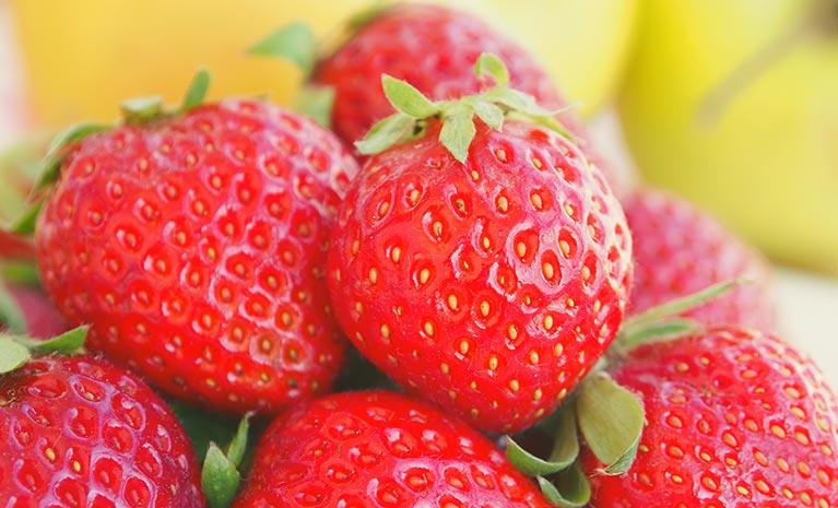 Scentee riecht nach Erdbeere