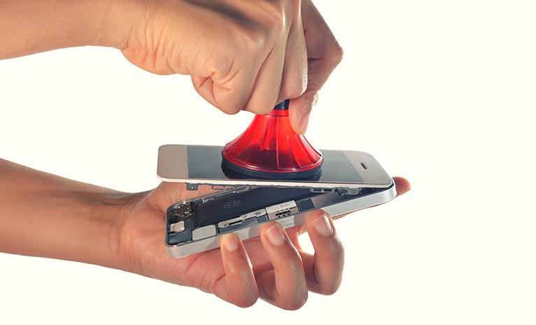 Smartphones mit integriertem und kostenlosem Displaytausch