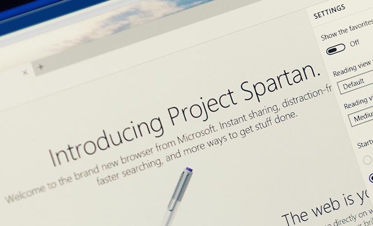 Microsoft Windows 10 Spartan