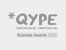 Comsmile Business Award 2012 von Qype