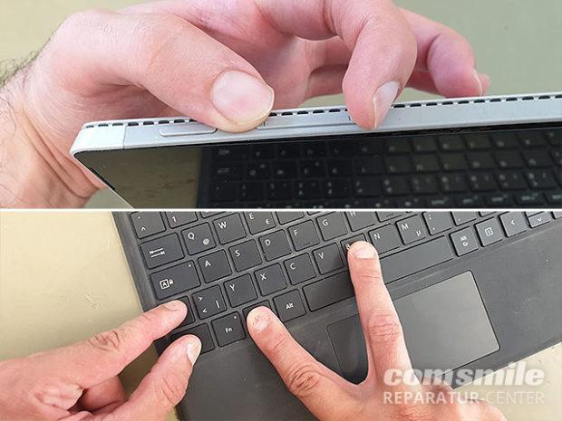 Surface startet nicht: Tastenkombination