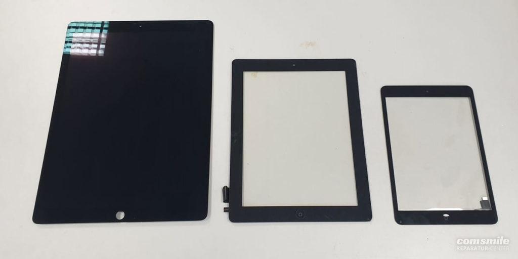 Tablet Bildschirmgrößen
