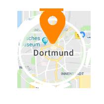 Ausschnitt der Map von Dortmund