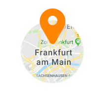 Ausschnitt der Map von Frankfurt