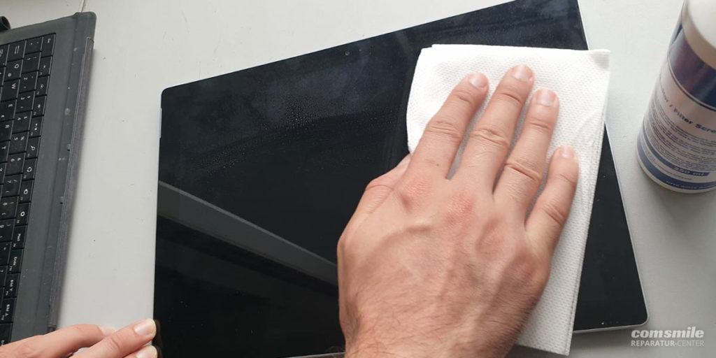 Tablet reinigen
