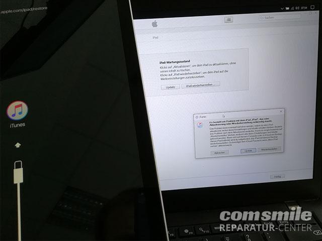 iPad startet nicht