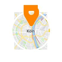 Ausschnitt der Map von Köln