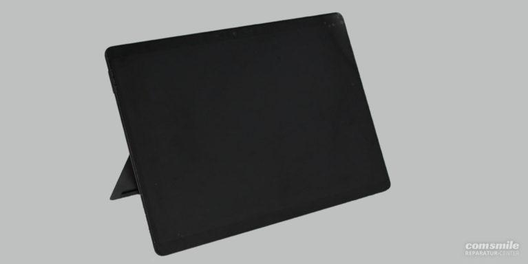 aufgestelltes Microsoft Surface