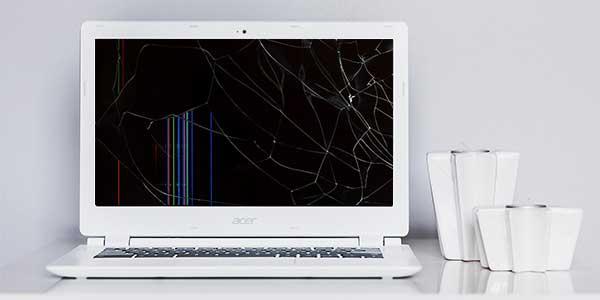 Acer Laptop Display ist kaputt.
