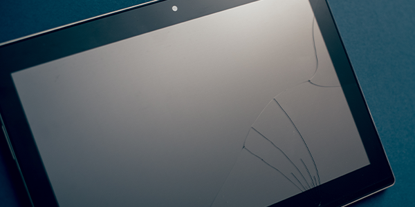 Reparatur eines Lenovo Tablet Displays