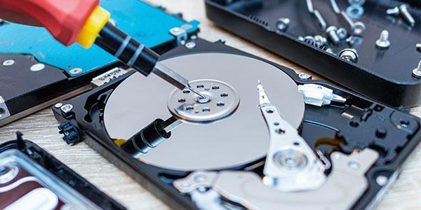 Reparatur der Laptop Festplatte