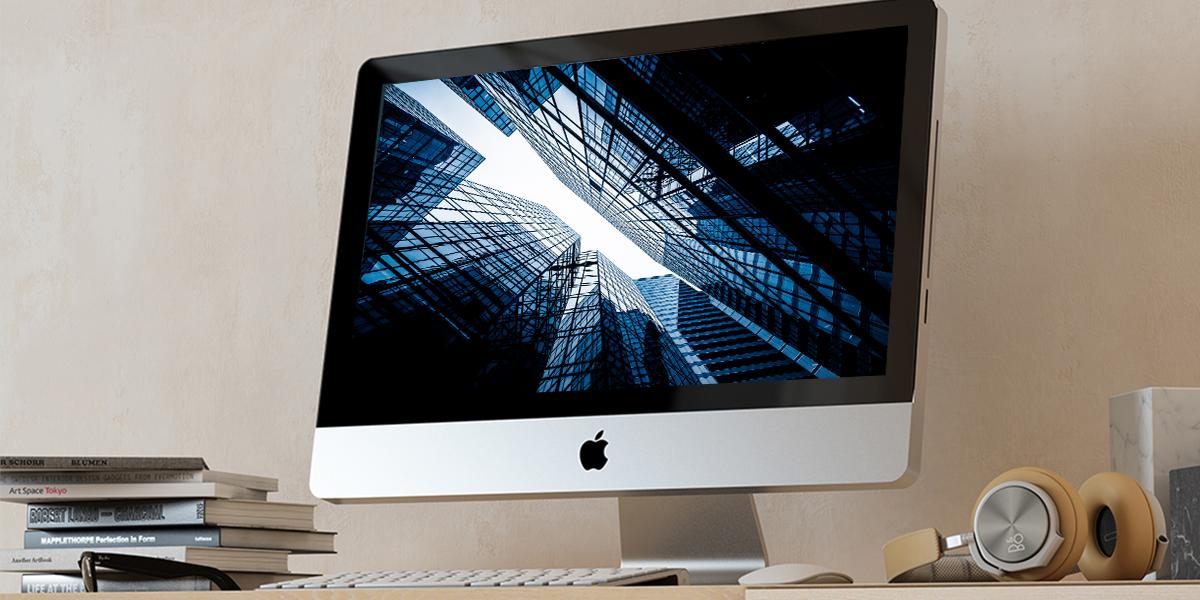 Ansicht eines iMacs