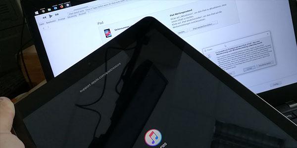 iPad startet nicht nach Update