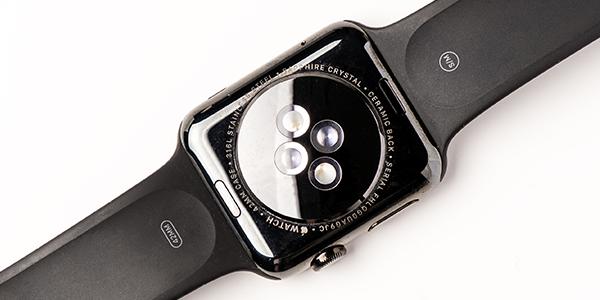 Apple Watch Ansicht von unten